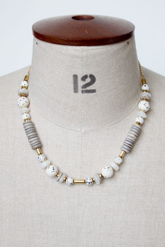 Jasper and Moonstone Necklace