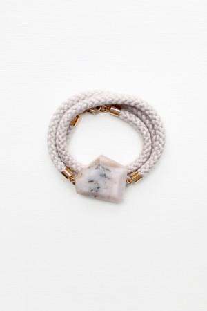 Peruvian Opal Wrap Bracelet