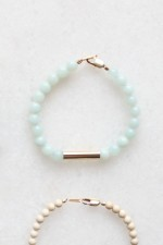 Amazonite and Metal Bracelet