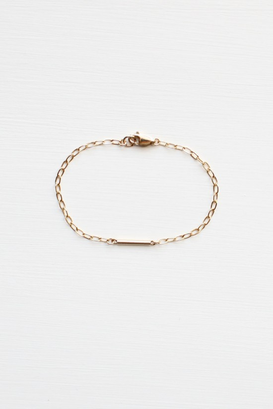 Lapis Lazuli Bracelet Set - 14kt gold fill
