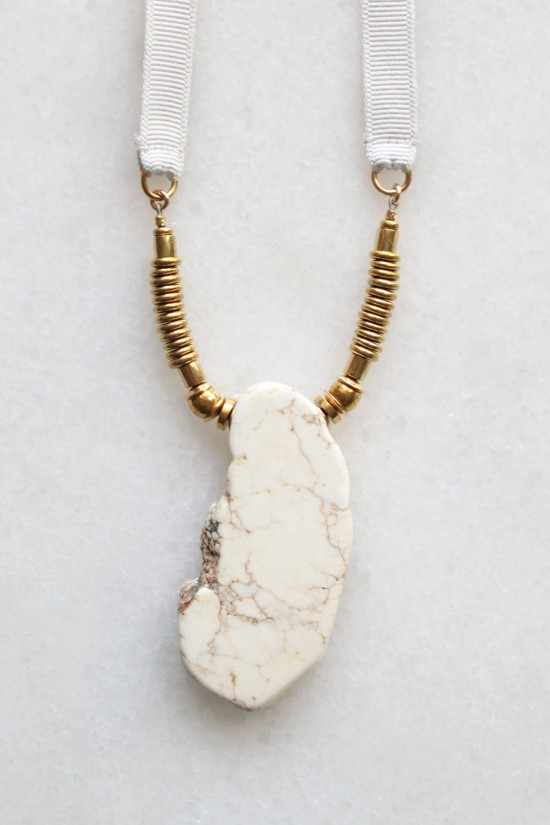 Natural Magnesite Necklace