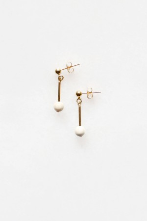 Riverstone Drop Earrings