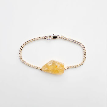 Citrine bracelet by The Vamoose