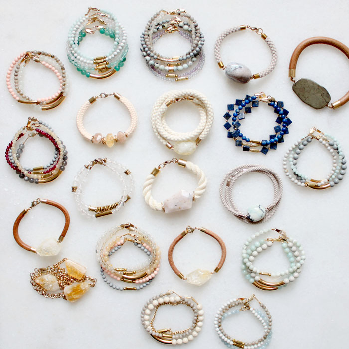 Gemstone bracelets | The Vamoose
