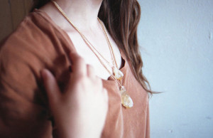 Citrine Necklaces by The Vamoose | Photography by Eefje de Coninck