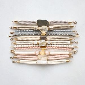 Gemstone Bracelets by The Vamoose