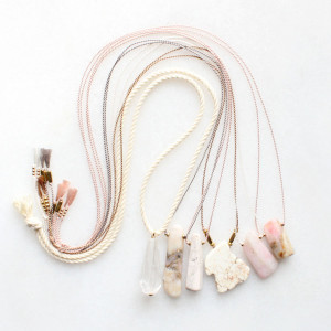 Limited Edition Necklaces by The Vamoose