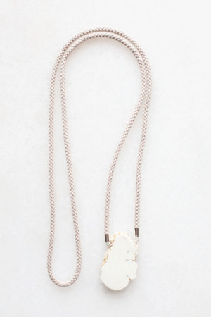 Natural Magnesite Necklace by The Vamoose