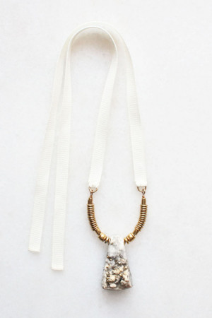 Pyrite Necklace by The Vamoose