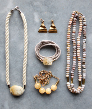 Rope and gemstone jewellery by The Vamoose