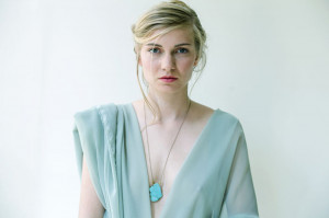 Turquoise and Silk Necklace by The Vamoose | Photography by Eefje de Coninck