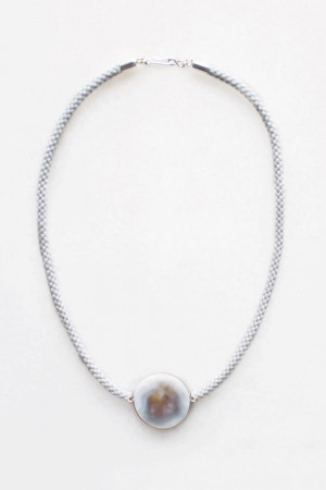 Braided Cord Shell Necklace by The Vamoose